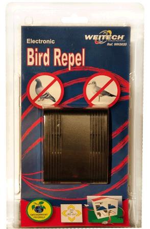 """Отпугиватель птиц """"Weitech WK-0020"""" в упаковке"""