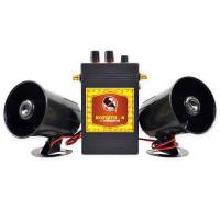 Звуковой отпугиватель птиц «Коршун-8 с двумя динамиками»